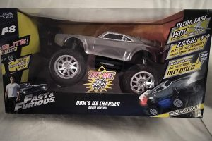 Jada RC Remote Control Fast & Furious Dom's Ice Charger Radio Control With Super Bright Lights Up To 150+ MPH Scale Speed, 2.4 GHz Up To 200 FT, Ready To...