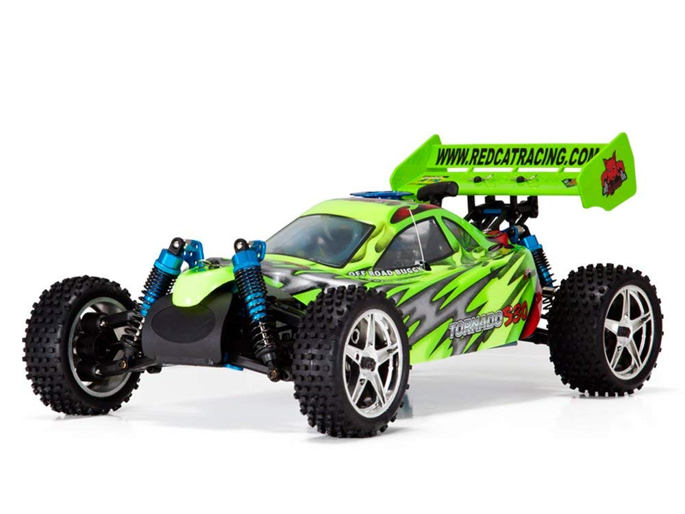 Redcat Racing Tornado S30 Nitro Buggy, Red Green, 1 10 Scale