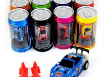 Bhbuy Multi color Coke Can Mini Speed RC Radio Remote Control Micro Racing Car Toy Gift
