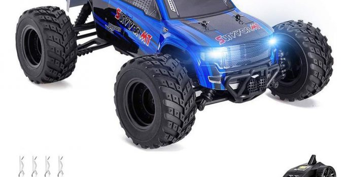 Distianert 1 12 Scale 4WD RTR Rock Crawler Electric RC Car with 2 4GHz Radio Remote Control High Speed 25MPH Best RC Buggy for On-Road and Off-Road Racing Rock Crawling