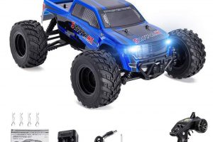 Distianert 1 12 Scale 4WD RTR Rock Crawler Electric RC Car with 2 4GHz Radio Remote Control High Speed 25MPH Best RC Buggy for On-Road and Off-Road Racing...