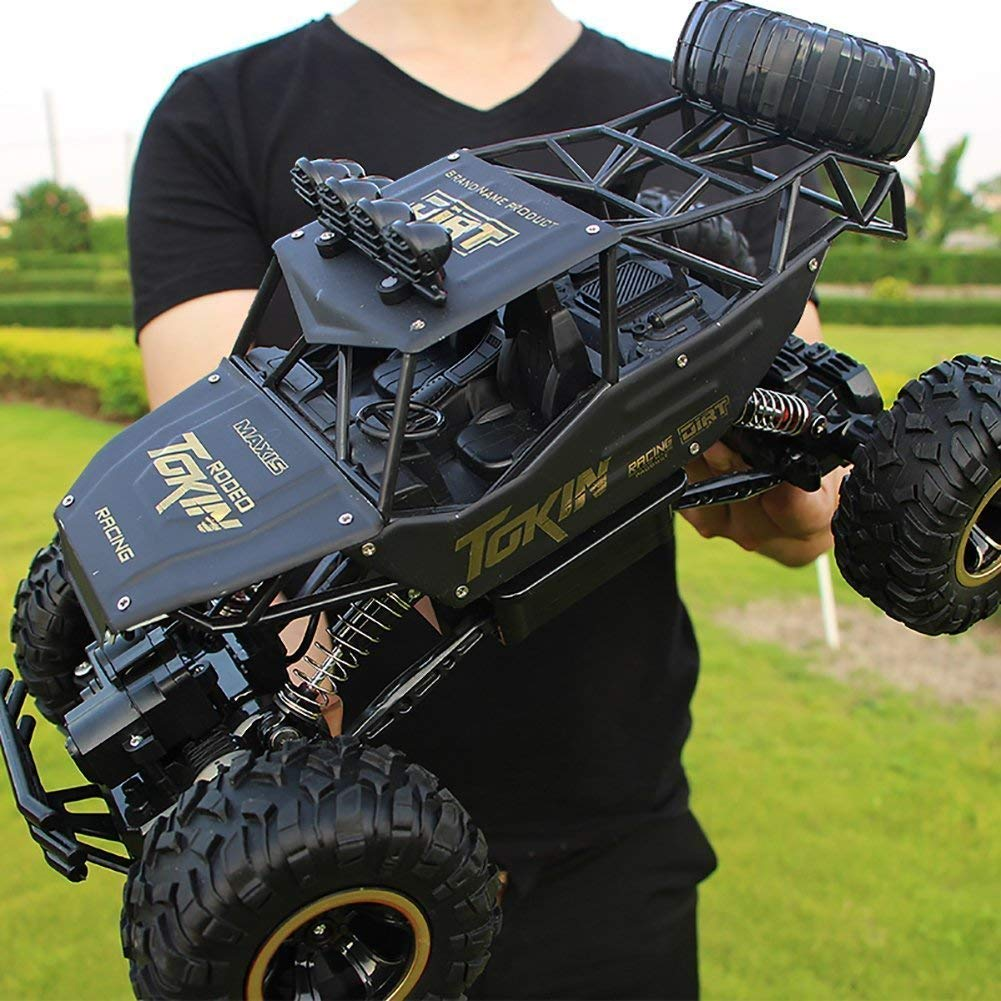 LightInTheBox RC Car 1:12 Scale 4WD Rock Crawlers Off -Road / Rock Climbing Car 4 CH/2.4G Brushless Electric Flashlight / Waterproof / Shockproof Boys' Suprise Gift