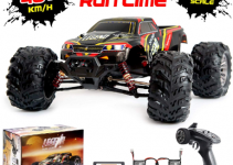 1_10 Scale Large RC Cars 48+ kmh Speed - Boys Remote Control Car 4x4